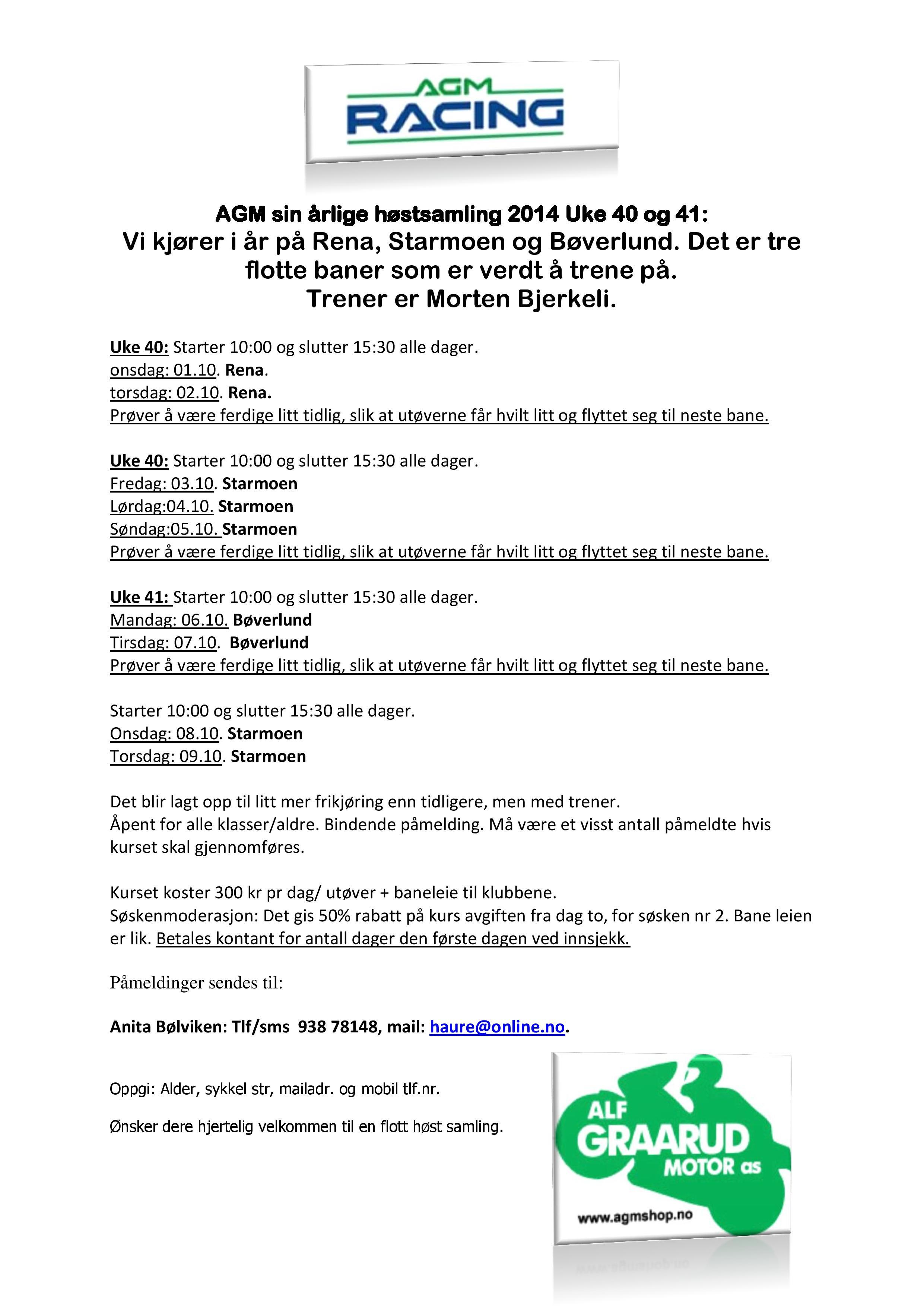 AGM sin årlige høstsamling 2014 Uke 40 - 41-page-001